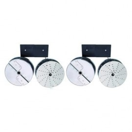 ROBOT COUPE WALL MOUNTED DISC HOLDER FOR 16 OR 8 DISCS 107812