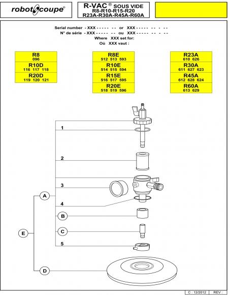 R-Vac Kit Spares